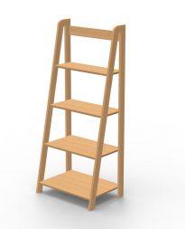 Regał schodkowy – nowoczesne i wygodne rozwiązanie do salonu