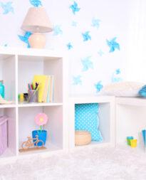 półka do pokoju dziecięcego