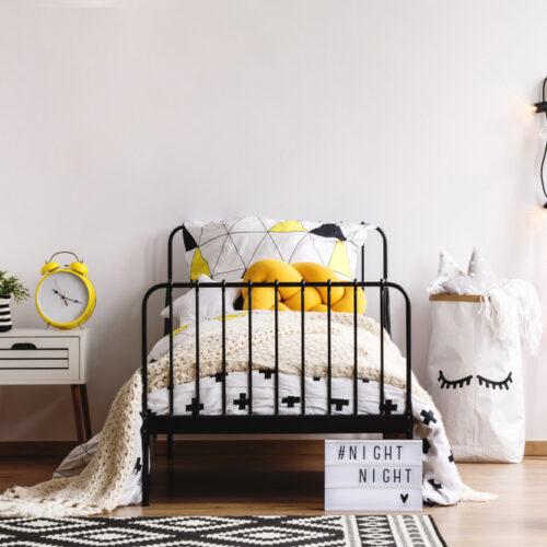 łóżko dla nastolatka