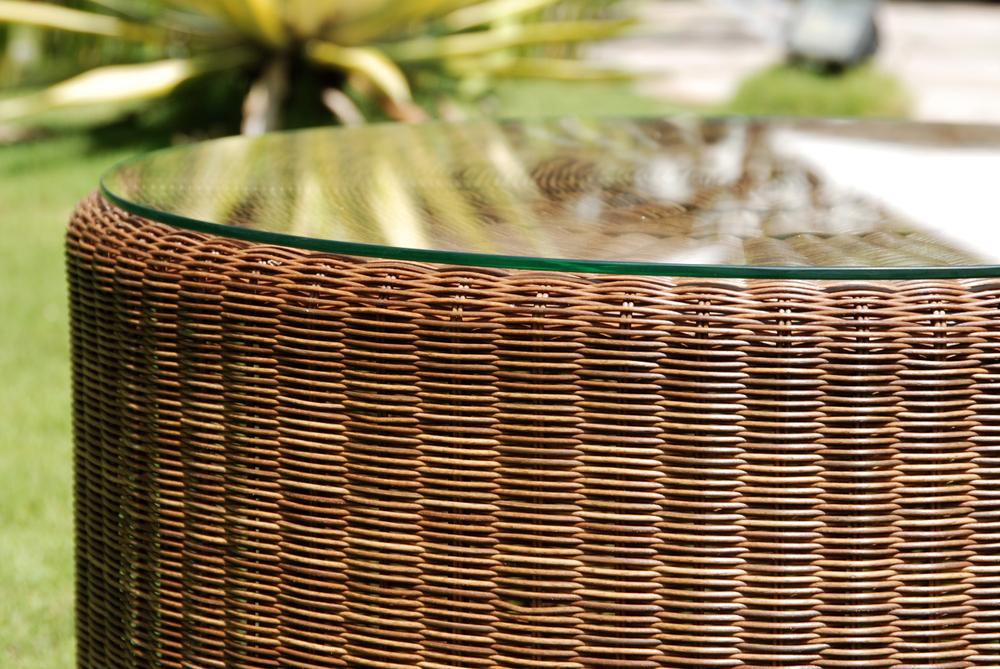 stolik ogrodowy z rattanu