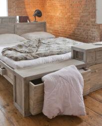 Łóżko kontynentalne a łóżko z pojemnikami