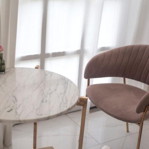 stolik kawowy glamour