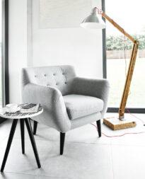 fotel materiałowy