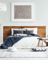 Plyta laminowana w sypialni